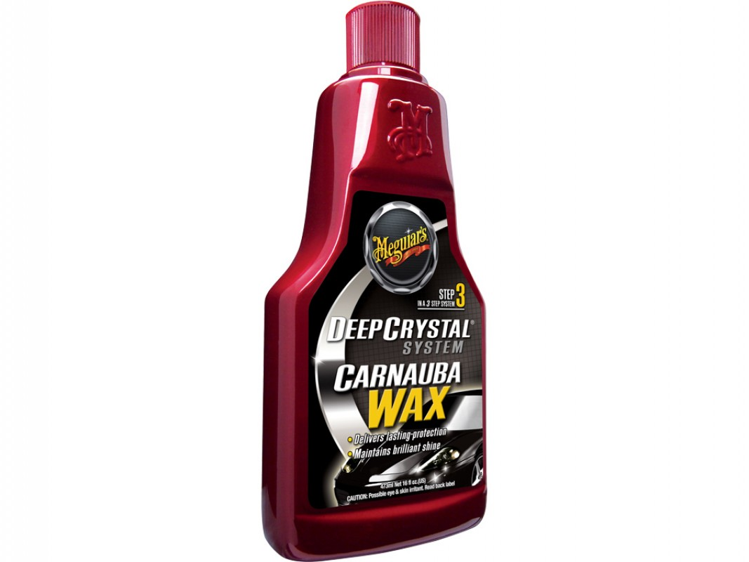 Meguiars STEP 3 Deep Crystal Carnauba Wax
